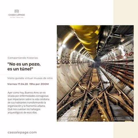 """""""No es un tunel, es un pozo"""""""