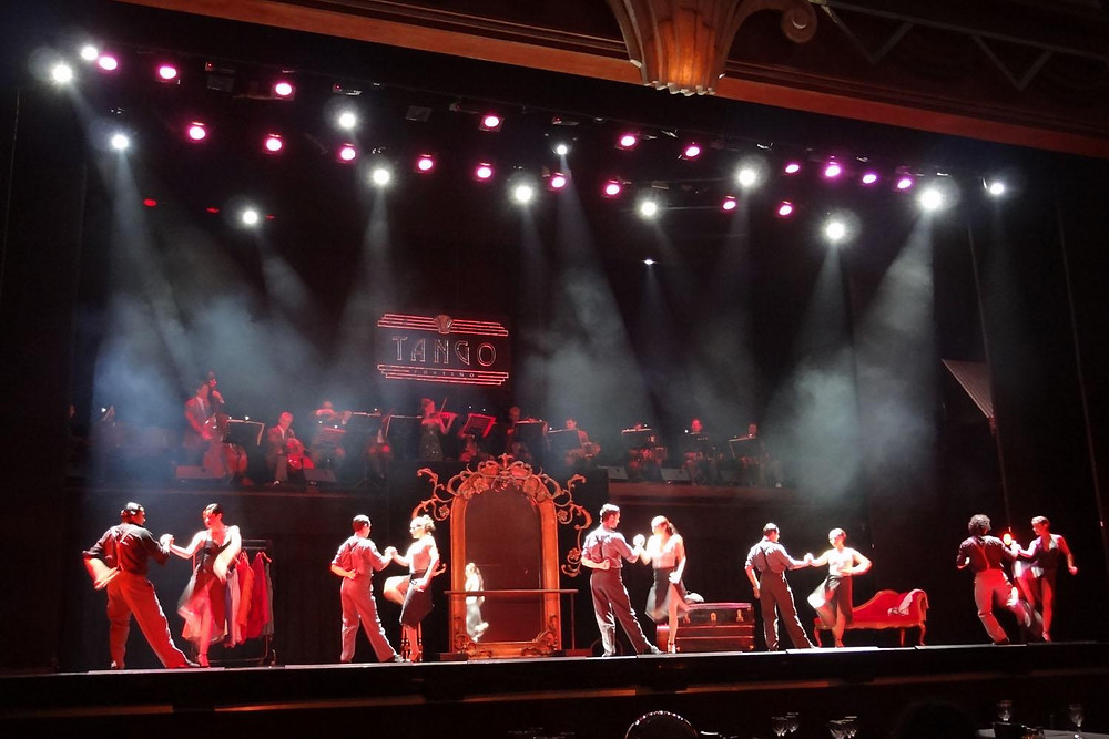 Photo from Tango Porteño Show