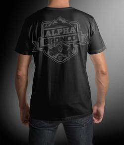Alpha Bronco OUTSIDE Tee