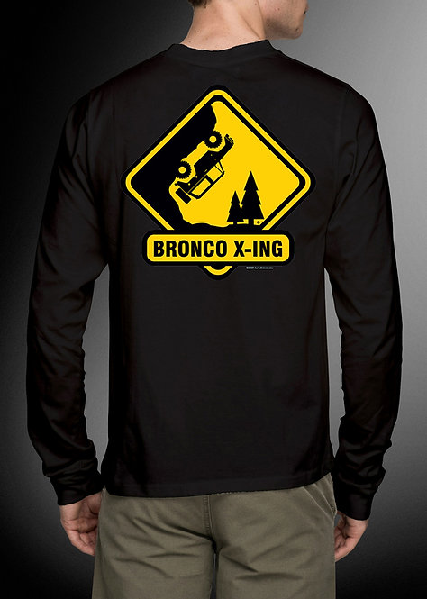 Bronco X-ING - Long Sleeve Bronco Tee
