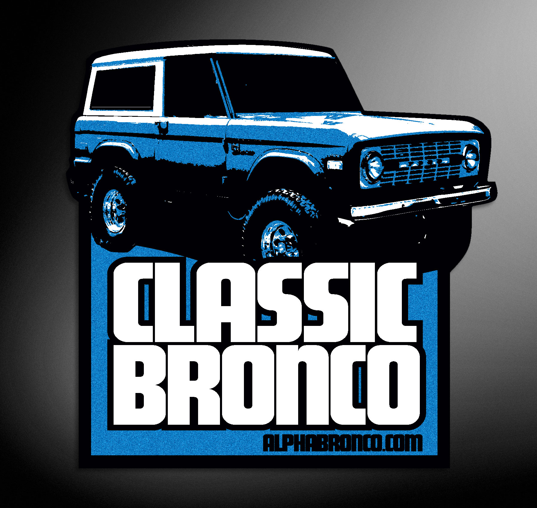 Alpha Bronco Classic Decal