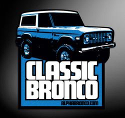Alpha Bronco Classic Decal