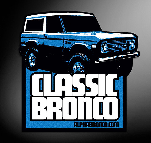 CLASSIC BRONCO - DECAL