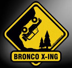 Alpha Bronco X-ING decal