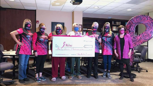 2020 donation made to The Rose by the Jump for the Rose Board