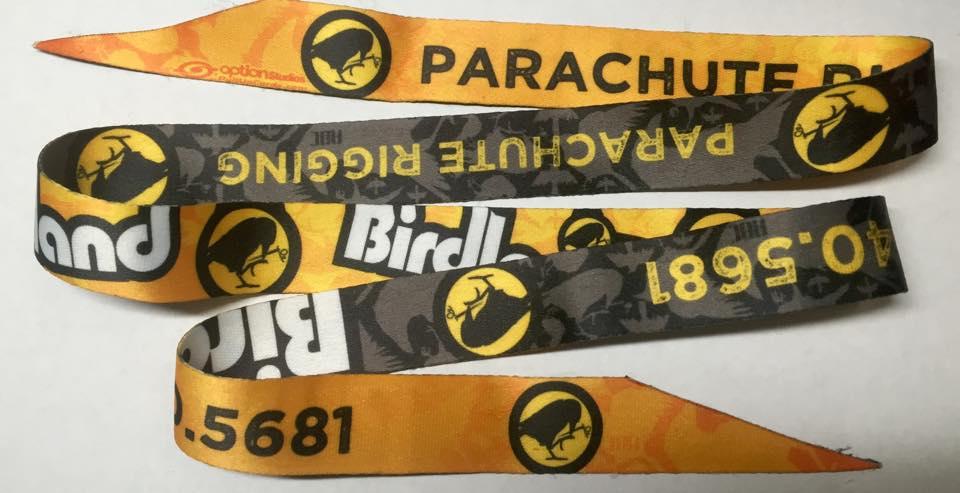 birdland parachute rigging pullup cords