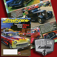 Outlaw Kustoms makes the pages with a sweet 30 Ford pickup
