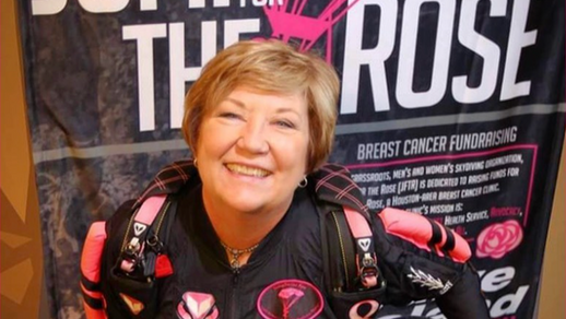 Marian Sparks, Jump for the Rose Founder