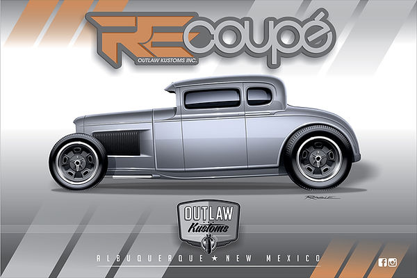 "1930 Ford Model A ""RE-COUPE"""