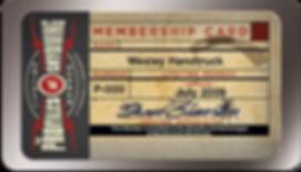 Profiles of Skydiving Membership Card