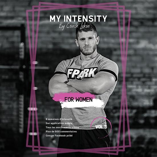 MY INTENSITY Vol.3         For Women