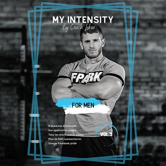 MY INTENSITY Vol.3        For Men