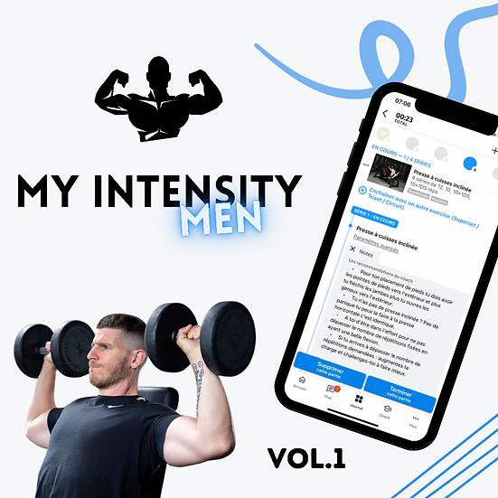 MY INTENSITY Vol.1        For Men