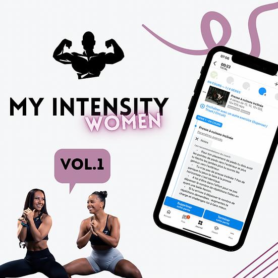 MY INTENSITY Vol.1         For Women