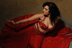 Yael in Red