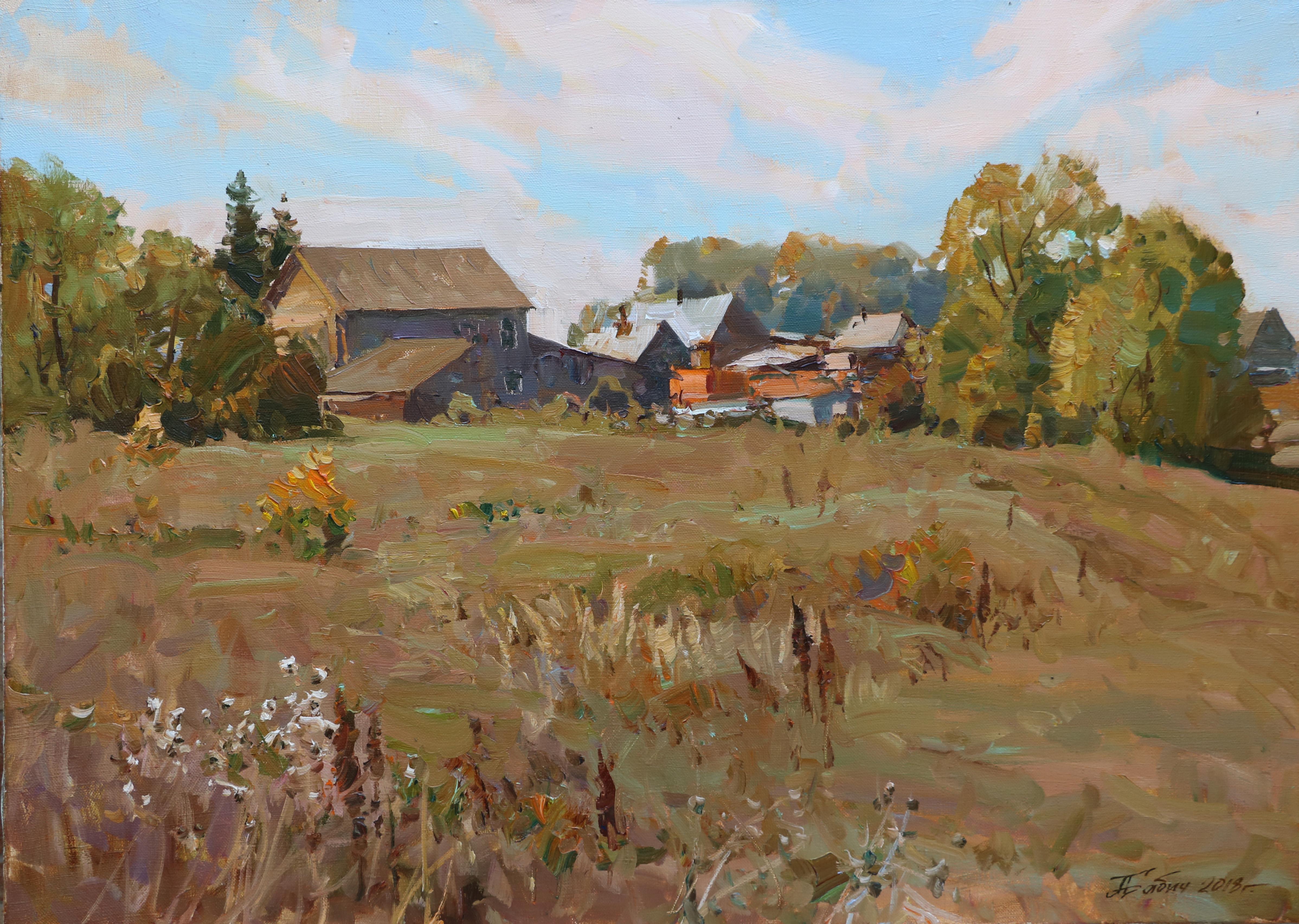 Осенний сухостой.с.Прислониха.50х70