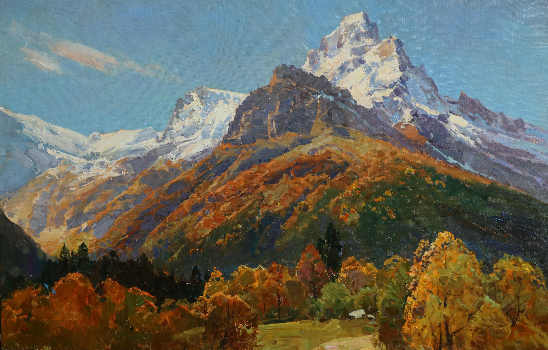 Осенняя Белиалакая 58х87 см