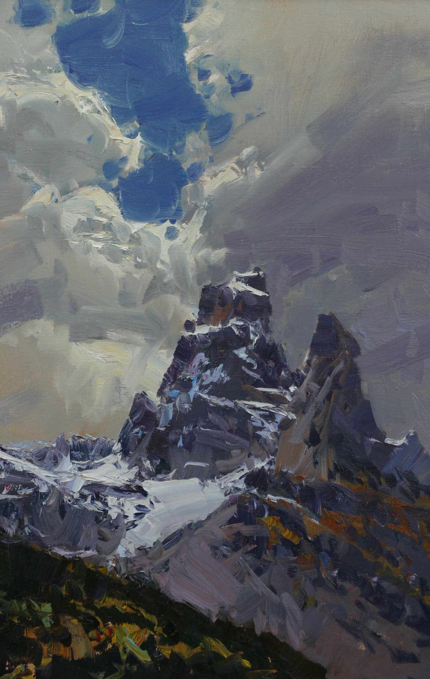 60х40-Вершины Теберды.