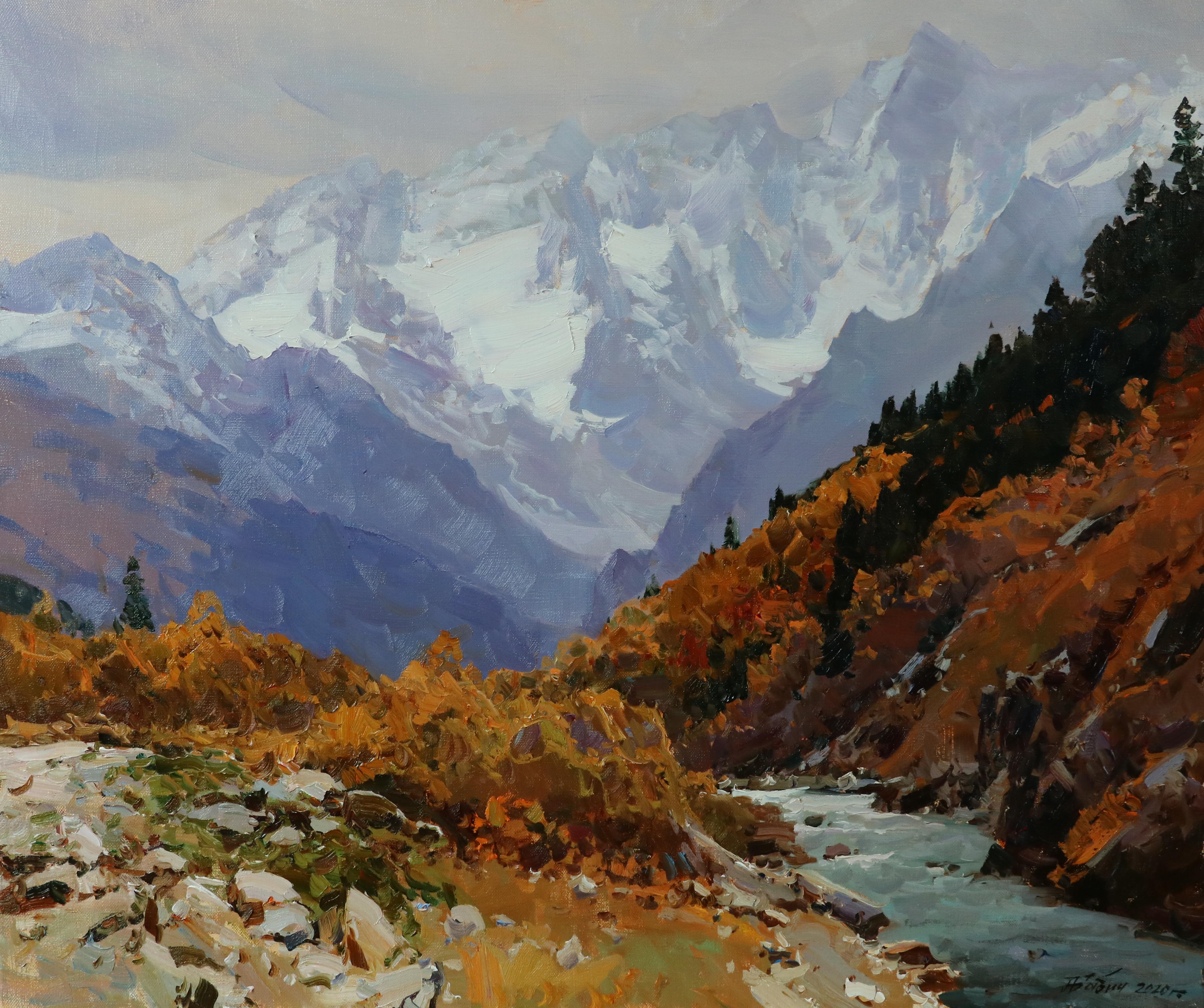Осенний Гоначхир.59х71.
