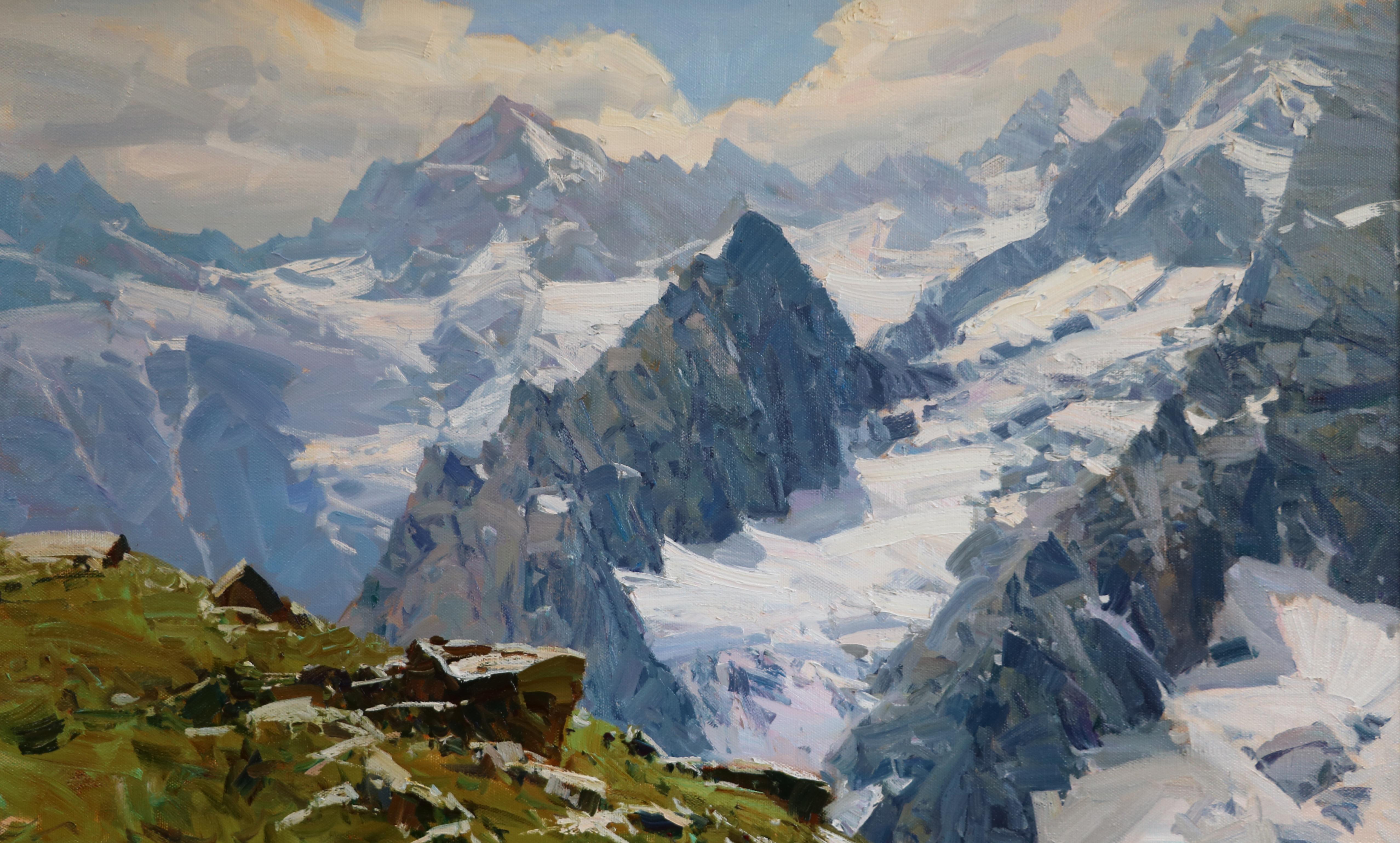 Лед и скалы 78х125