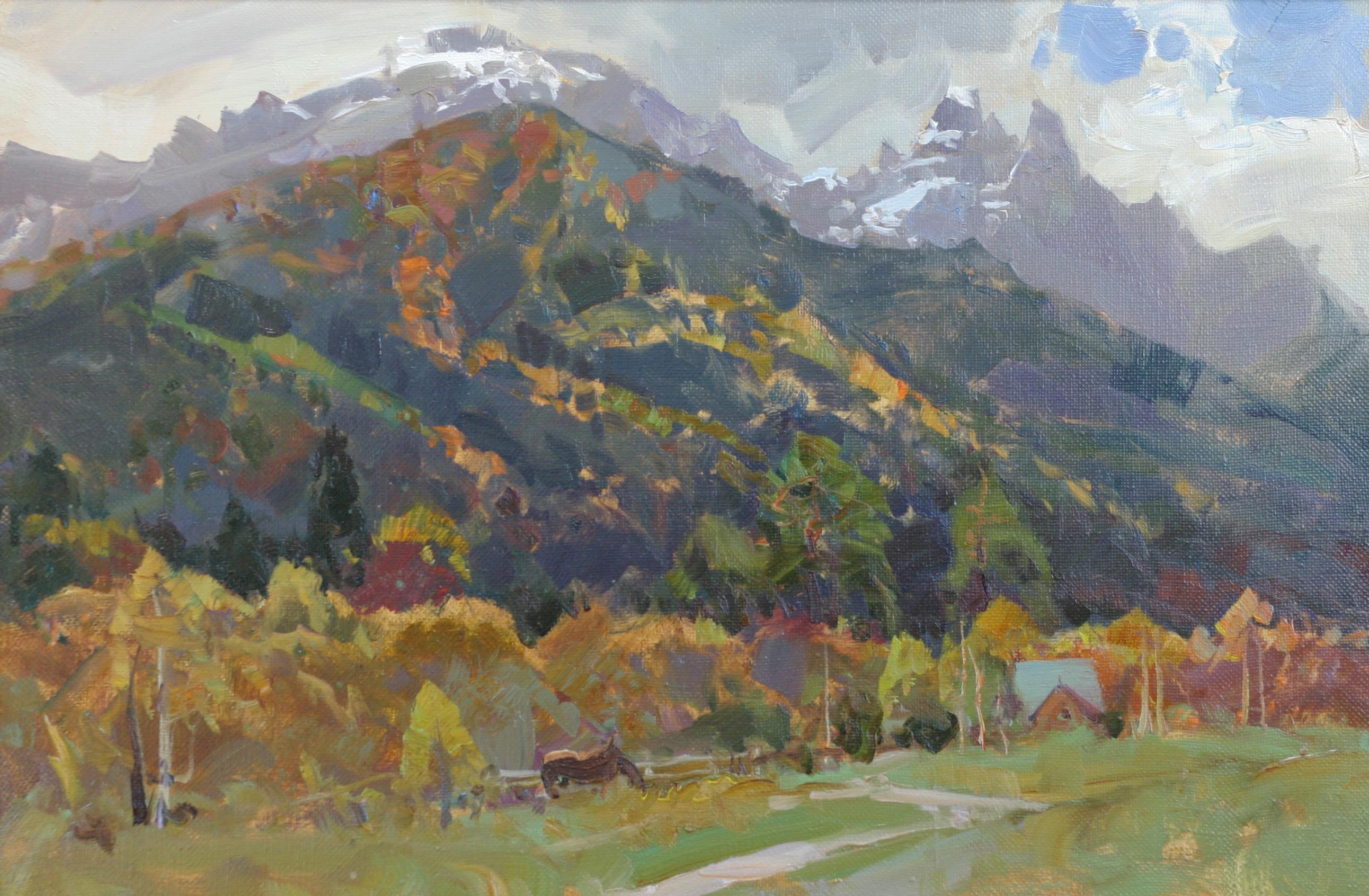 40х60-Тебердинская осень.