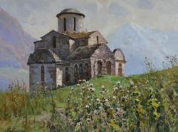 Сентинский храм в Тебердинском ущелье