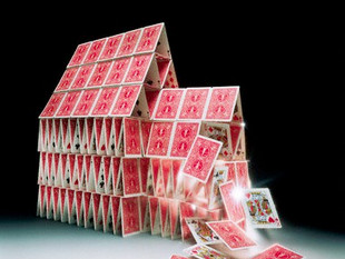 With a huff, and a puff, the house of cards falls down...