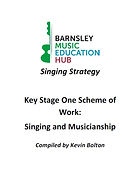 Barnsley Music Hub Key Stage 1 Singing Strategy Front Cover Image