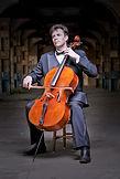 Man playing a cello