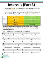 Intervals  Worksheet Part 3 Screenshot.j