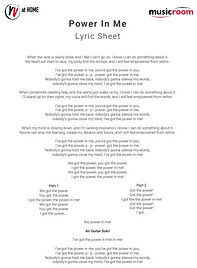Power In Me Lyric Sheet.JPG