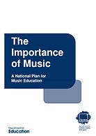 National Plan for Music Education COVER IMAGE