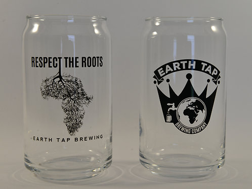 Earth Tap Beer Can Glass Set
