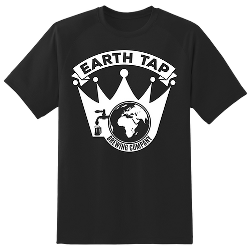 Earth Tap Shirt - Black and White edition