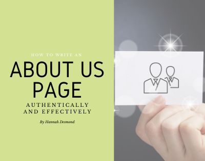 How to Write an About Us Page – Authentically & Effectively