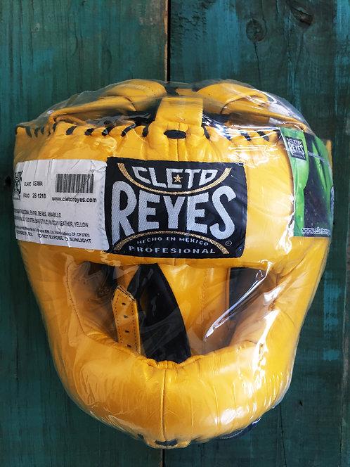 Cabezal Tradicional Barra Cleto Reyes Amarillo