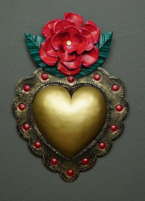Corazón San Miguel CSMA4 26X17cm.