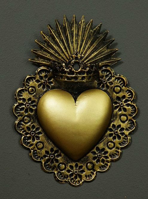 Corazón San Miguel CSMA1 22X16,5cm.