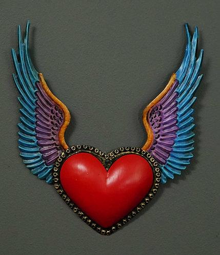 Corazón San Miguel CSMA20 27X20cm.