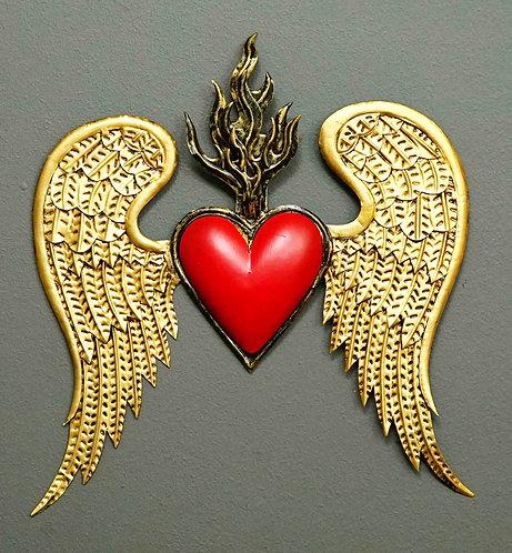 Corazón San Miguel CSMA26 26X25cm.