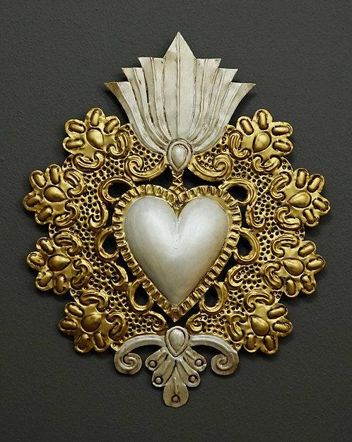 Corazón San Miguel CSMA21 32X25cm.