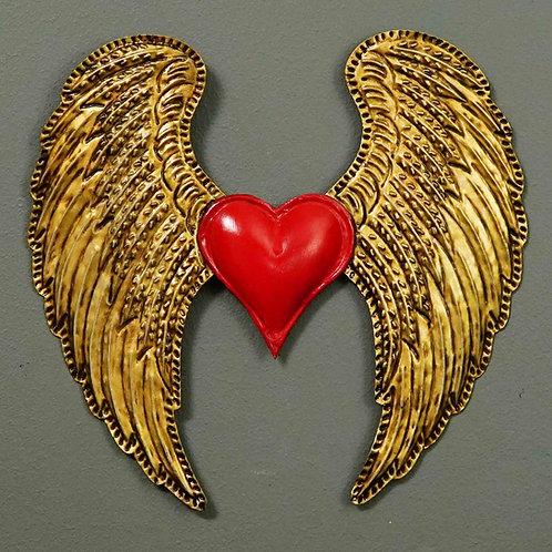 Corazón San Miguel CSMA25 26X25cm.