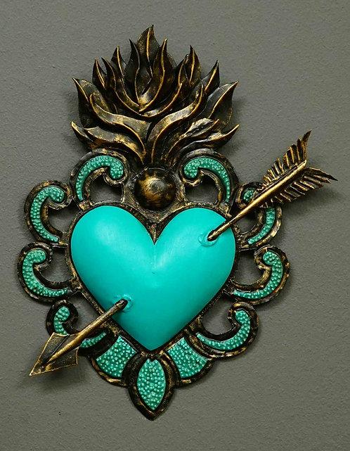 Corazón San Miguel CSMA24 26X23cm.