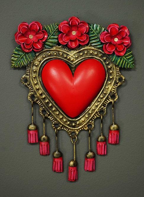 Corazón San Miguel CSMA5 30X22cm.