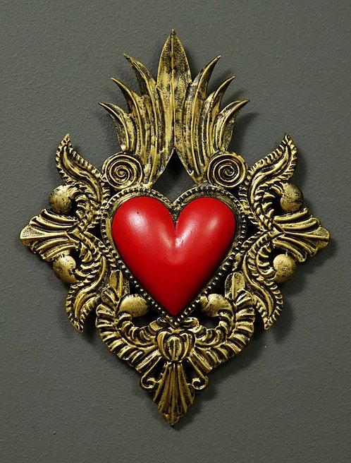 Corazón San Miguel CSMA17 27X21cm.
