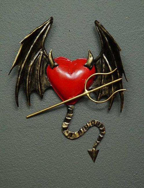 Corazón San Miguel CSMA 14X17cm.
