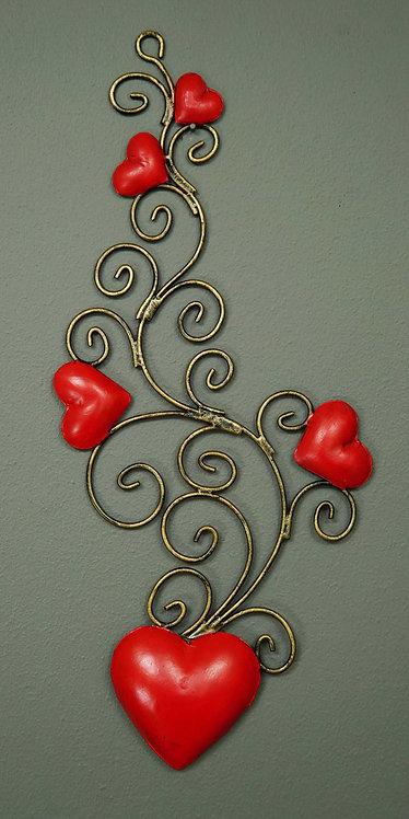 Corazón San Miguel CSMA23 30X15cm.
