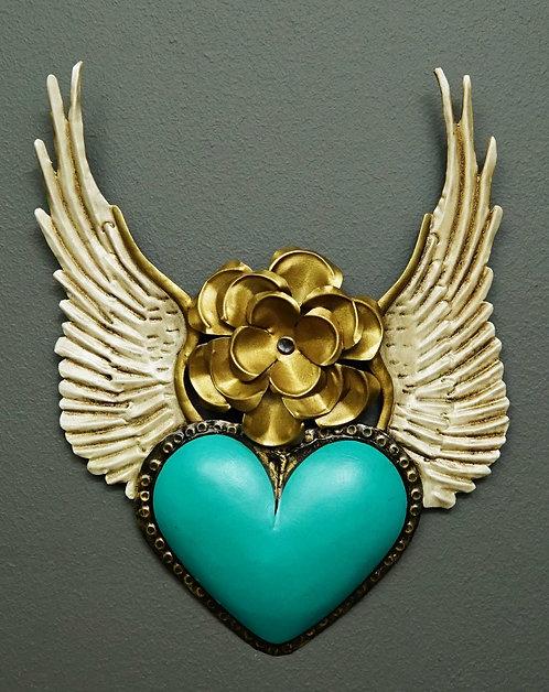 Corazón San Miguel CSMA3 27X20cm.