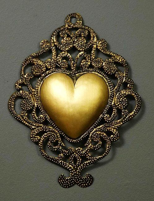 Corazón San Miguel CSMA8 29X22cm.