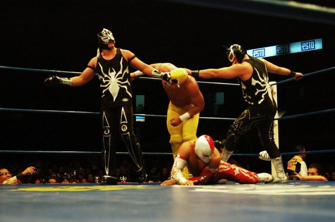 La lucha libre mexicana.